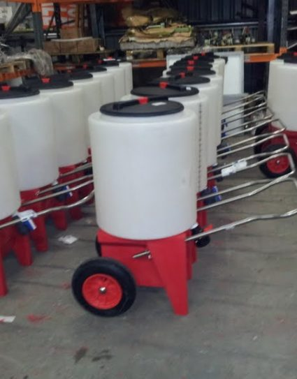 165 ltr Milk Trolley