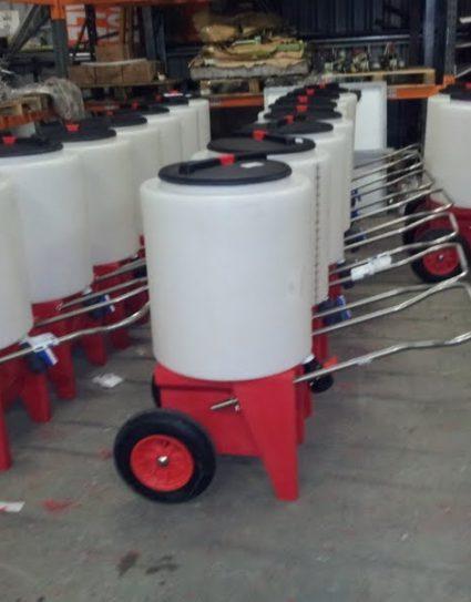 165 ltr Milk Trolley