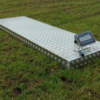 2 Tonne Aluminium Weigh Platform