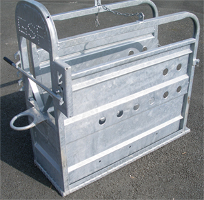 Calf Dehorning Squeeze Crate