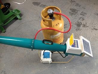 Solar Gas Cannon