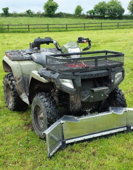 Aluminium ATV Scraper