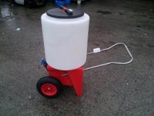 165 Litre Mobile Milk MIxer Trolley